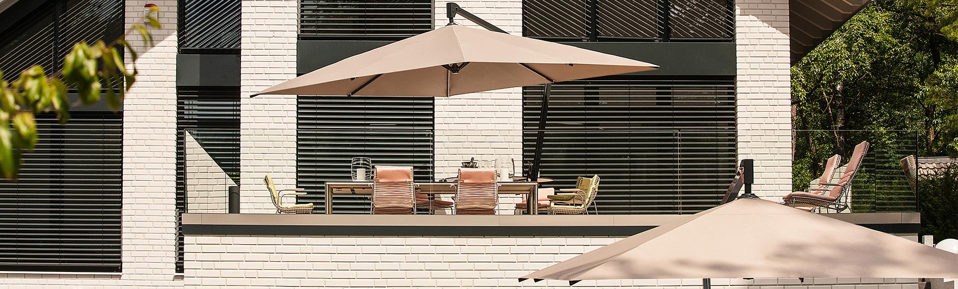 Sonnenschirm Amalfi Garten Balkon