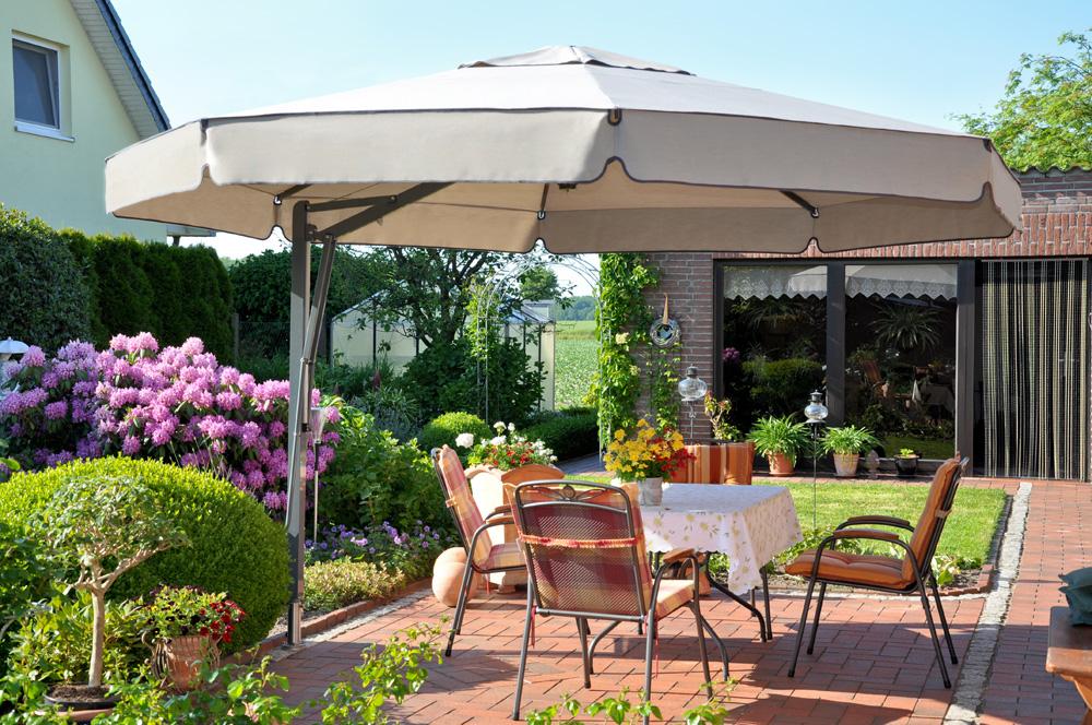 Sonnenschirm Belvedere, private Installation, Deutschland